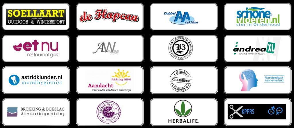overzicht sponsoren